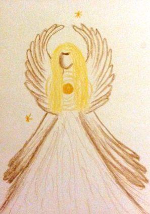Anděl uzemnění avnitřní síly
